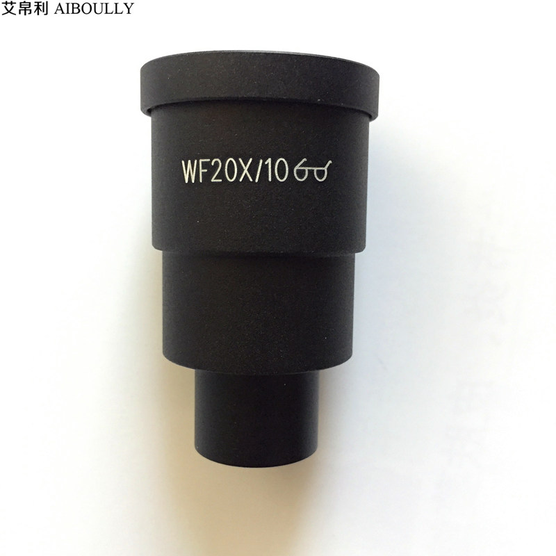 AIBOULLY 20X eyepieces for a variety of stereo microscopes Interface size 30mm Universal size Lens coating High point of view aiboully 20x eyepieces for a variety of stereo microscopes interface size 30mm universal size lens coating high point of view