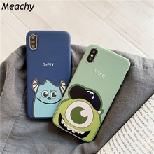 Meachy Mike Sulley Cute Cartoon Candy TPU Phone Case For Huawei P20 P30 Pro Lite P10 Plus Mate 20 10 Cover