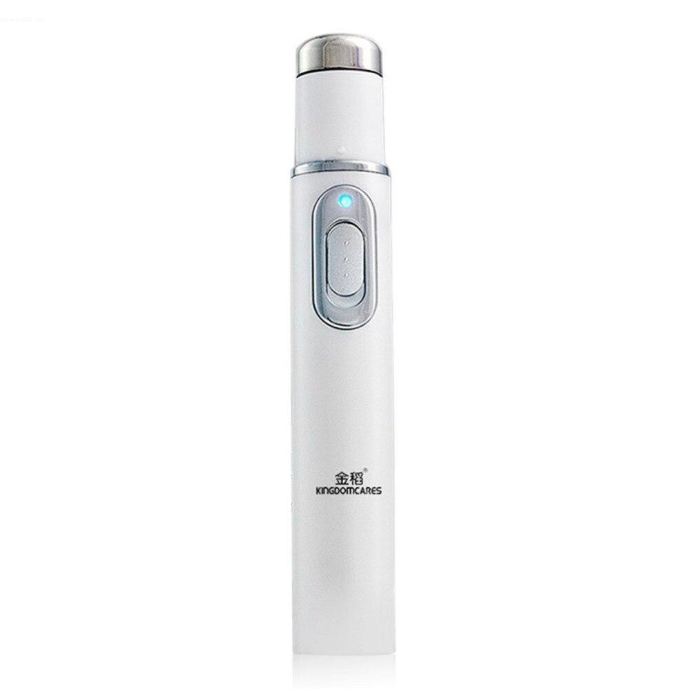 KD-7910 Akne Laser Stift Tragbare Falten Entfernung Maschine Dauerhaften Weichen Narbe Entferner Gerät Blau Lichttherapie Stift Massage Entspannen