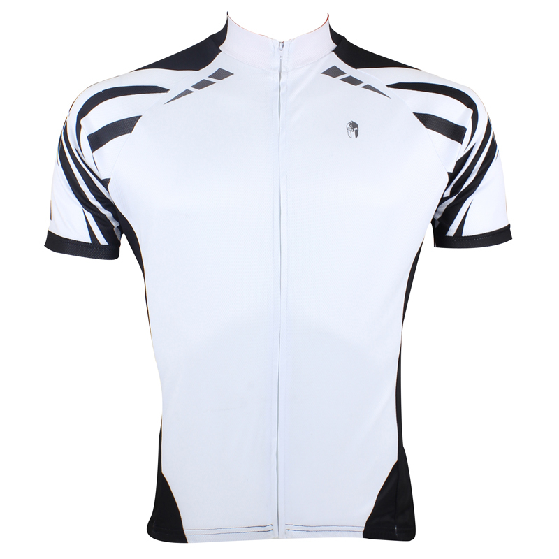 New CYCLING JERSEYS Men's White hot Breathable top Sleeve Cycling Clothes BIKE ILPALADIN 2016 new men s cycling jerseys top sleeve blue and white waves bicycle shirt white bike top breathable cycling top ilpaladin