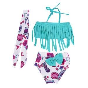 40f3f3735 JOCESTYLE Baby Girls Bikini Swimming Swimsuits Swimwear