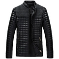2017 зима весна мужские кожаные куртки и пальто, jaqueta де couro masculina мужчины байкер куртки кожаные пальто и куртки мужчины 98hfx