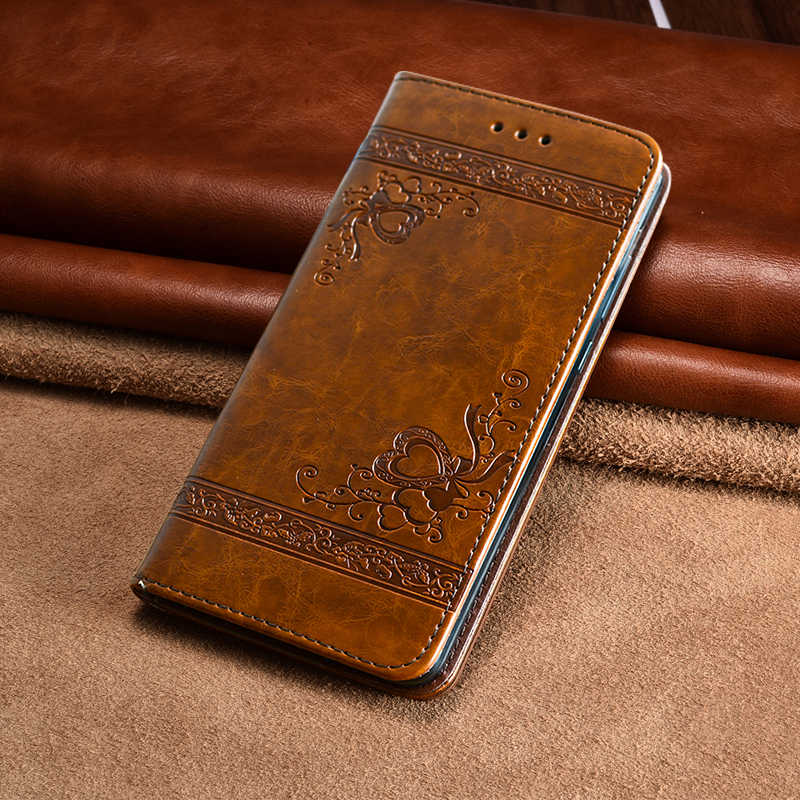 Flower Leather Case for Huawei P20 Pro Mate 9 P9 P10 P8 Lite 2017 Flip Wallet Card Cover for iPhone X 6 6s 7 8 Plus 5 5S SE Capa
