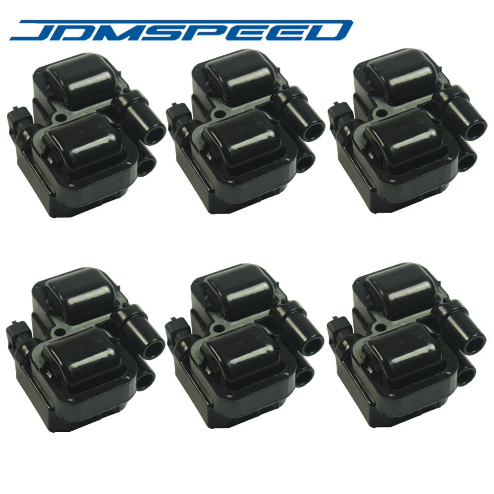 Fan Coil Cosa Sono free shipping-set of 6 pcs ignition spark coil coils uf-359 5c1226 fits for  mercedes-benz c cl clk ml class
