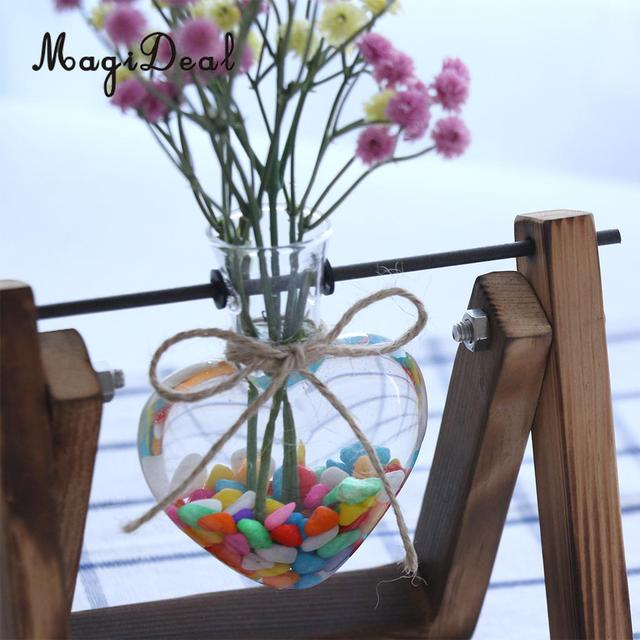 Hanging Glass Flower Vase Diy Micro Landscape Fairy Garden Terrarium