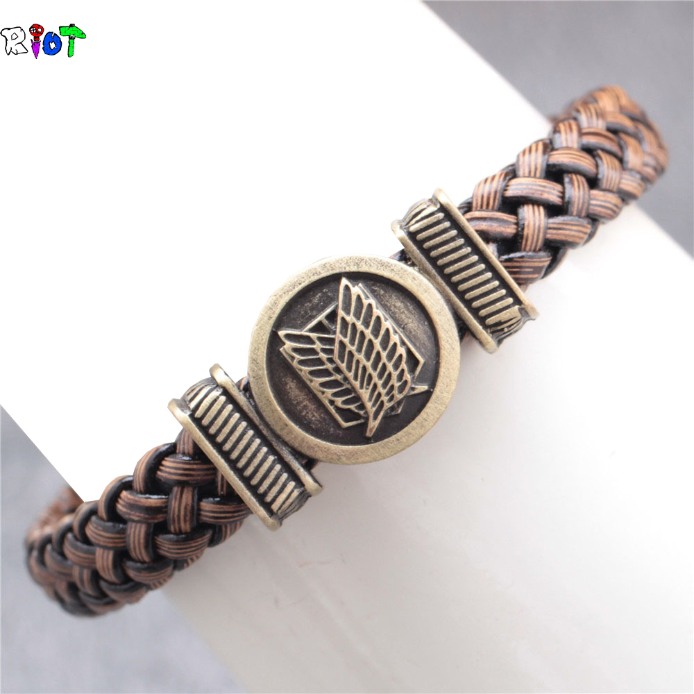 Shingeki no Kyojin Attack On Titan Giant bracelet hand-rope student long paragraph allen Accessory