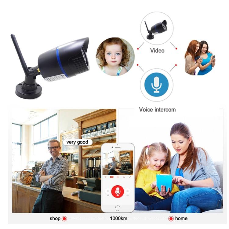 HTB1OY.CK4TpK1RjSZFKq6y2wXXaO IP Camera Wifi 720P 960P 1080P HD Wireless Cctv Security Indoor Outdoor Waterproof Audio IPCam Infrared Home Surveillance Camera