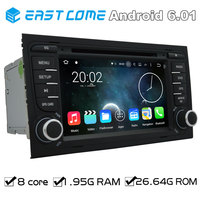 Pure Android 6.01 Car DVD For AUDI A4 2002 2003 2004 2005 2006 2007 Audi S4 RS4 8E 8F B9 B7 RNS E With Radio Quad core Bluetooth