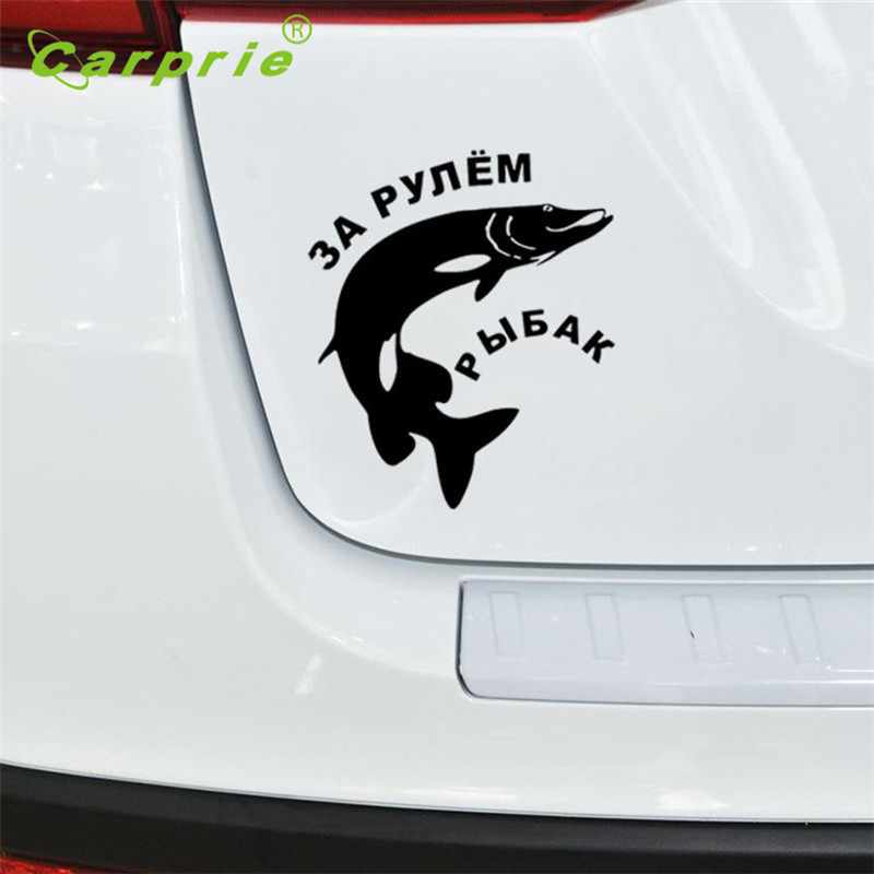 Car-styling Stickers Web Cam Funny Fishing Bumper StickersAnd Decals Car Styling Accessories June20