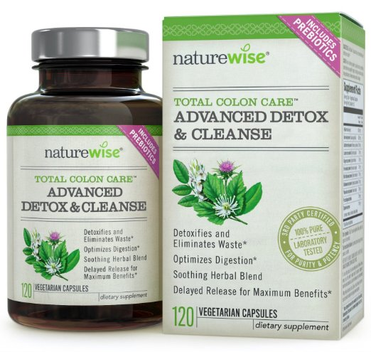 Total Colon font b Care b font Advanced Detox Cleanse with Digestive Enzymes for Colon font