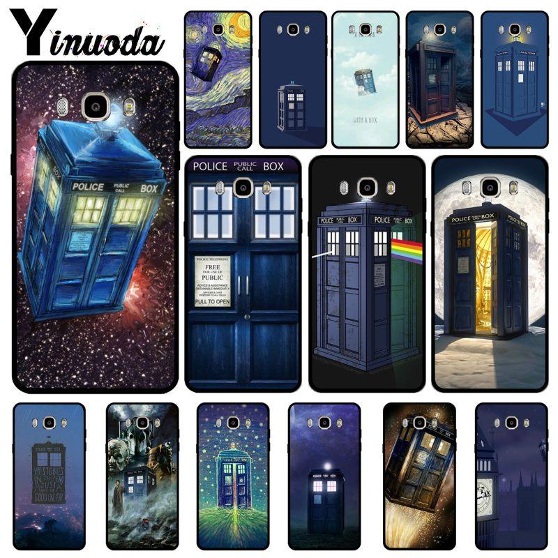 Yinuoda Tardis Doctor Dr Who Police Box Novelty Fundas Phone Case Cover For GALAXY s5 s6  edge plus s7 edge s8 plus s9 plus