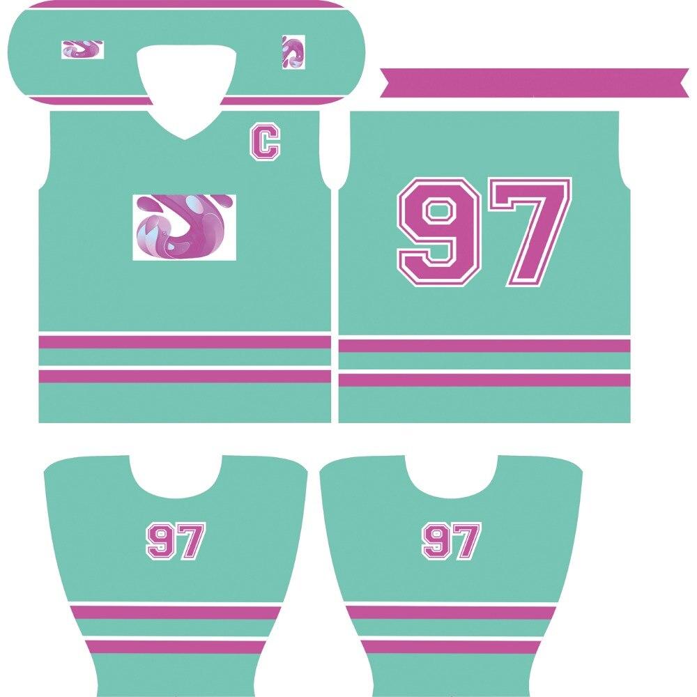 Kawasaki ապրանքանիշ Unisex Ice Hockey Jersey - Սպորտային հագուստ և աքսեսուարներ - Լուսանկար 3