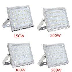 Ultradünne 110V 220V LED Flutlicht 150W 200W 300W 500W IP65 Wasserdichte Led-strahler beleuchtung Wand Lampe Garten Flutlicht