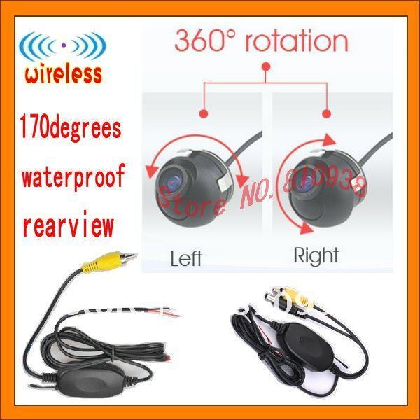 wireless camera auto CCD HD 360degree Promotion car cameras Car Rear View Camera Rearview rear/front/side camera for universal