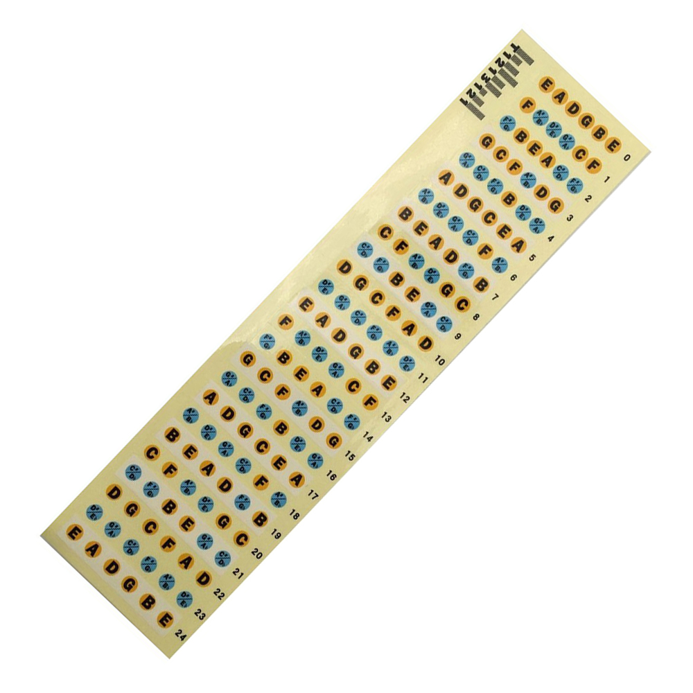 Shop For Cheap Hot Guitar Fretboard Note Decals Fingerboard Frets Map Sticker For Beginner Learner Practice Fit 6 Strings Acoustic Guitar Buy Now Sports & Entertainment