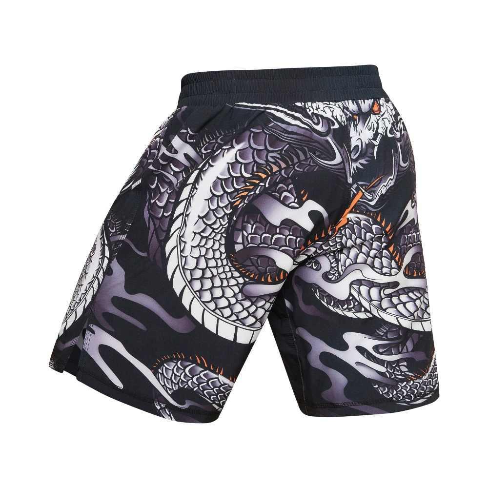 New Fashion Men Sporting Musculação MMA Shorts Soltos Calças de Poliéster Shorts Homens Sweatpants Jogger Casual Academias De Fitness Curta