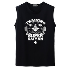 Dragon Ball Z  Bodybuilding Japanese Goku sleeveless T-Shirt