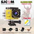 Последним в Исходном SJCAM SJ4000 Wifi SJ 4000 2.0 ЖК Экшн-Камеры обновление SJ CAM 4000 wi-fi 30 м Водонепроницаемый Мини M20 Спорт Д. в.