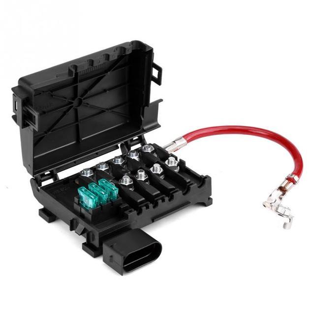 Автомобильный Батарея держатель плавкого предохранителя терминал для VW Jetta Golf Mk4 Жук 99-04 1J0937550A