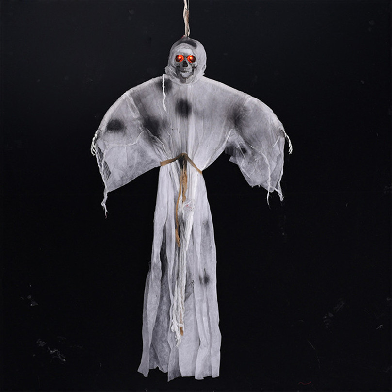 Electric Evil Halloween Hanging Ghost Haunted House Decor Grim Reaper Horror Props Home Bar Club Halloween Party Decorations