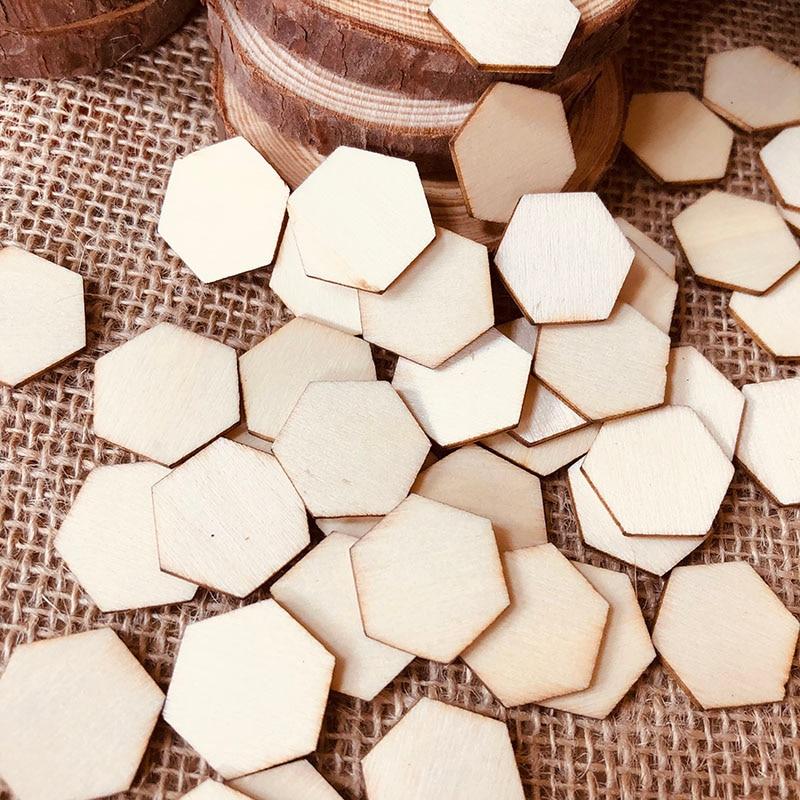 wood hexagon piece (9)