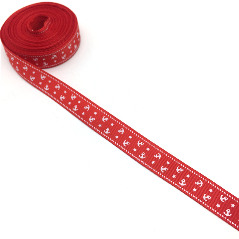 "50 Yards 3//8/"" 10mm Printed LOVE Grosgrain Ribbon Hair Bow DIY Sewing #91-100"