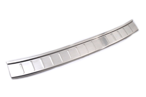 Stainless Steel Rear Bumper Protector Plate for VW Golf Sportsvan rear bumper protector steel rear bumper rear bumper plate - title=