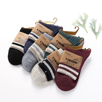 5Pairs Lot Thicken Socks Women S Casual Colorful Socks Long Liners Socks Carpenters Socks For Winter