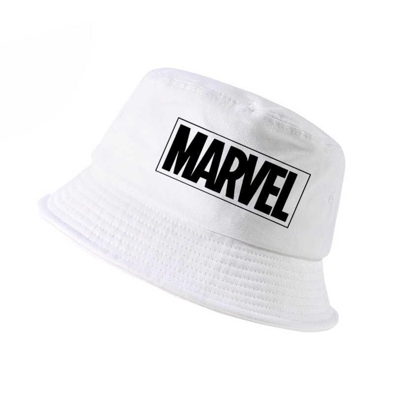 Nueva moda de MARVEL cubo sombrero de los hombres de algodón de las mujeres  marvel k ecc483f6804