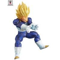 Original Banpresto model DRAGON BALL Z vegeta Figurine Super Saiyan special version pvc figure toy
