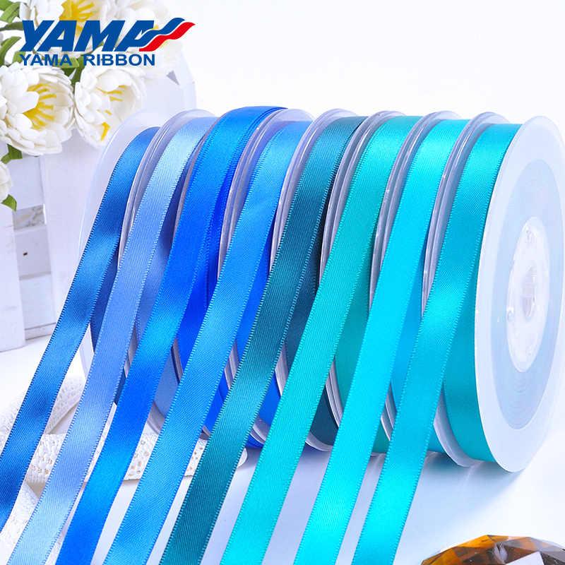 Arcos de la cinta de Satén Azul Auto Adhesivo Boda tarjeta hacer Artesanía 5cm X 4cm
