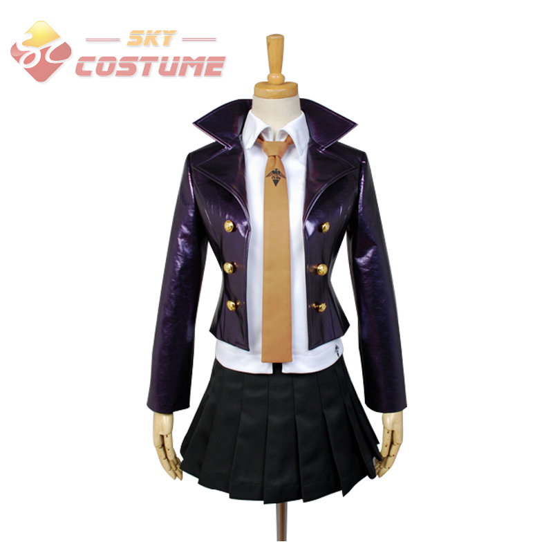 Anime Danganronpa Dangan Ronpa Kyoko Kirigiri Uniform Jacket Skirt Full Set For Women Halloween Cosplay Costumes Custom Made