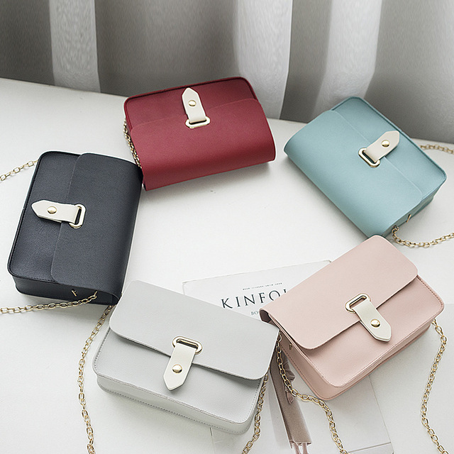 2018 New Fashion Women Messenger Bags Cute Wild Korean Version of The Slung Shoulder Small Square Bag Trend Mini Bolsos Mujer