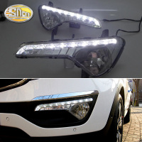 For KIA Sportage 2011 2012 2013 Daytime Running Lights Waterproof 12V LED Car light DRL fog lamp