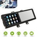 Nova marca 8 GB 5 polegada TFT Touch Screen Bluetooth Car GPS Navigation SAT NAV FM Espelho Retrovisor Europa/Mapa da América do norte