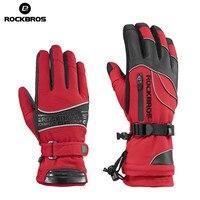 ROCKBROS 35 Degree Winter Men S Ski Gloves Windproof Waterproof Women Snowboard Gloves Snowmobile Motorcycle Cycling