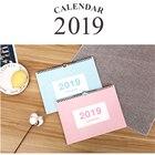 2019 Calendar Yearly Plan Agenda Organizer Desk Scheduler Hanging Wall Calendar School Office Supplies Stationery
