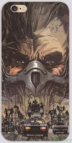 MAD MAX FURY ROAD Art Book and Comic Phone Case for Iphone 4S 5 5S 5C 6 6S Plus for Samsung galaxy S3/4/5/6/7 Ipod Touch 4 5 6