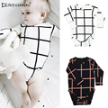 Keaiyouhuo 2017 do bebê da menina do menino roupas de bebê recém-nascido meninas clothing bodysuits mangas compridas de algodão roupas infantis para meninos crianças traje