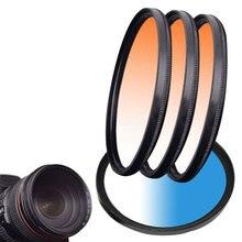 New ND FLD UV MC Grad Round Gradient Filter 52mm 58 67 55 77 mm for Nikon Canon EOS 7D 5D 6D 50D 60D 600D d5200 d3300 d3200 отсутствует эклеры и другие домашние пирожные