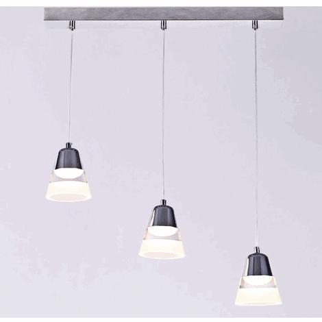 1/3/6 heads restaurant Pendant Lights three led modern dining room Pendant lamp bar shop lighting Pendant lamps ZA7123 rectangular dining room pendant lights european style led crystal pendant lights modern restaurant lamp bar cafe creative lamps