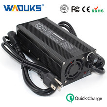 58.8V 5A Charger Output DC 58.8V For 14S 48V Li-ion/Lipo/LiMn2O4/LiCoO2 Battery Pack With Cooling fan Free Shipping(China)