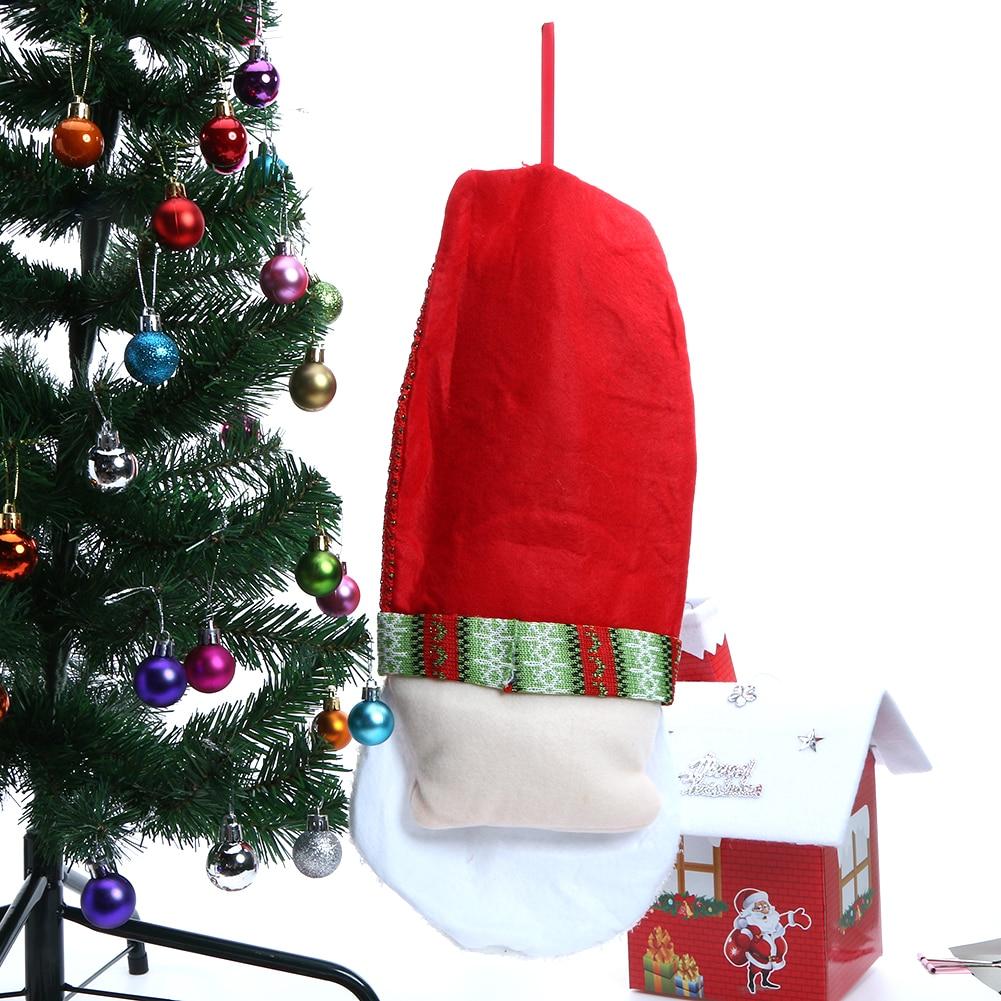 newest santa claus christmas calendars wall hanging ornaments navidad xmas advent countdown calendar party favor 54x22cm in advent calendars from home - Christmas Wall Hanging Decorations