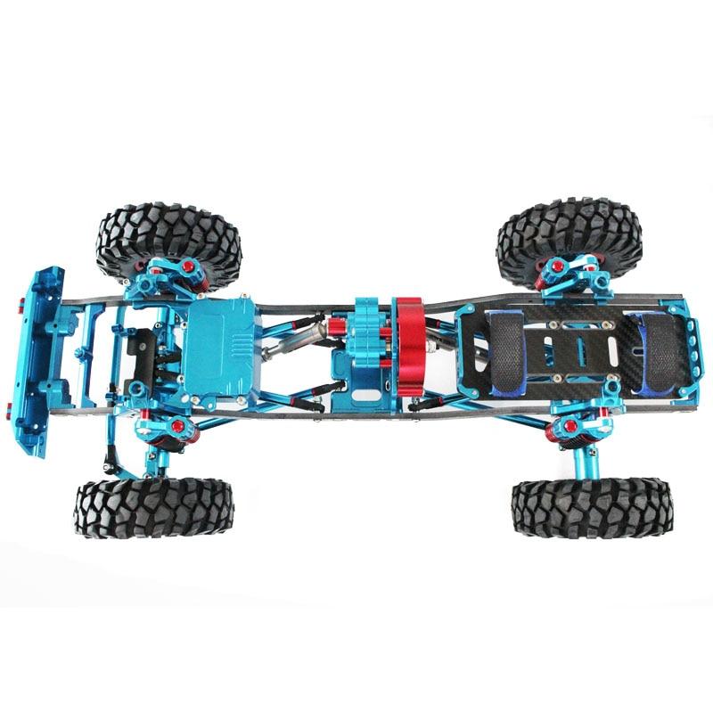 TFL scx10 313 305 Full metal climbing frame Climbing car blue-in ...