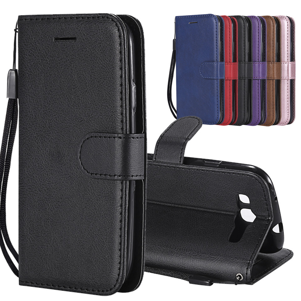 bf6bcab258a For Funda Samsung Galaxy S3 Case Leather Wallet Phone Case Samsung S3 Case  Luxury Flilp Leather Cover For Galaxy S3 i9300 Case