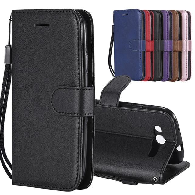 Funda ためサムスンギャラクシー S3 ケース革財布電話ケースサムスン S3 ケース高級 Flilp レザーカバーのために S3 i9300 ケース