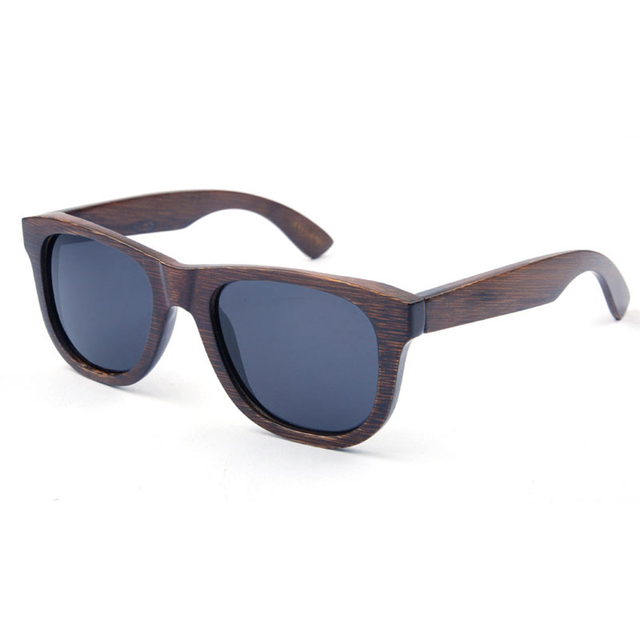 Moda Gafas De Madera De Bambú de madera Gafas de Sol Hombres gafas de Sol de Madera Gafas de Mujer de Marca Deportes Diseño TS1002