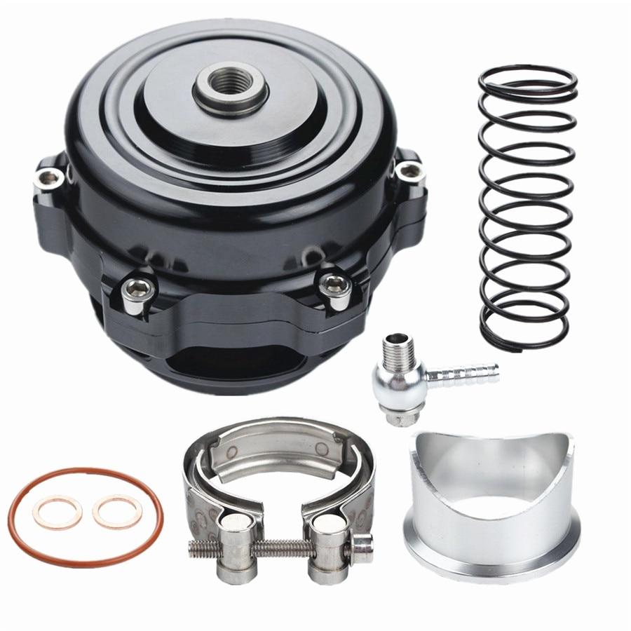 Ressort de soupape de soufflage 50mm universel BOV Turbo avec bride haute Performance décharge de soufflage adaptateur de soupape de voiture 0.4-1.3 Bar