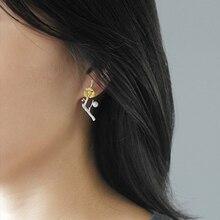 Oksa Sterling Silver Earring