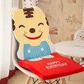 De dibujos animados silla de oficina cojín para inclinarse encendido es un cuerpo engrosamiento estudiantes asiento trasero conectado oso conejo